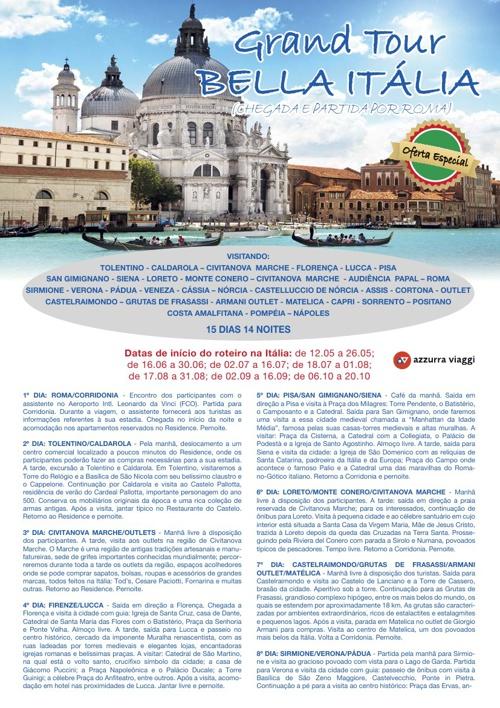 Gran Tour Bella Italia