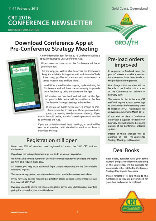 ConferenceNewsletterNov2015-Members v1