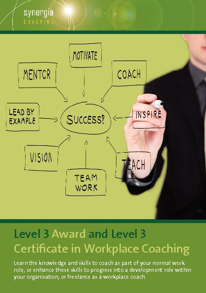 Level 3 Award and Level 3 Certificate in Workplace Coaching