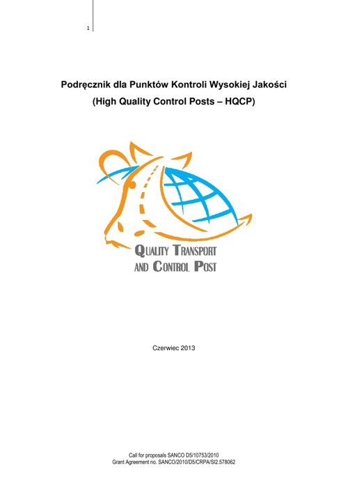 Quality Control Post (Polish)