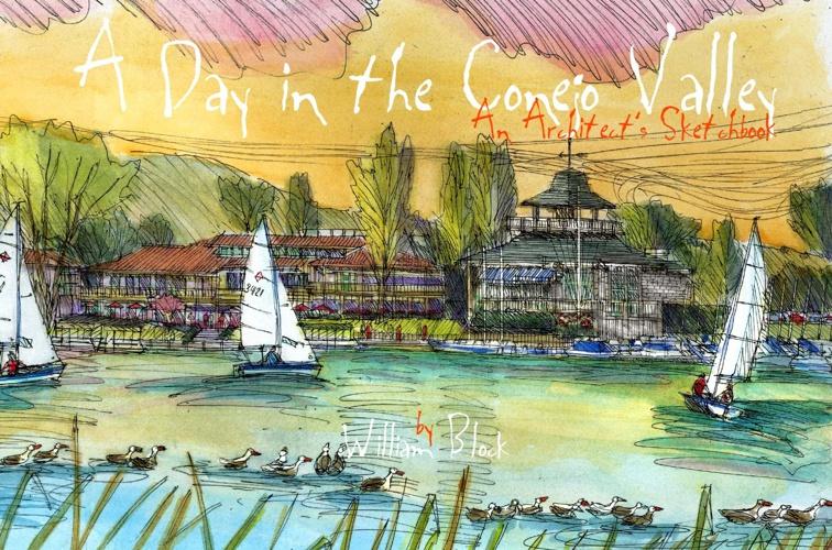 Conejo Valley Sketchbook Progress