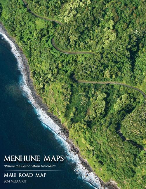 Maui Road Map Media Kit 2014