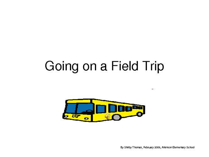 Going on a Field Trip