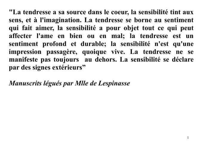 Vol. VI Citazioni Corso Lespinasse-Laclos