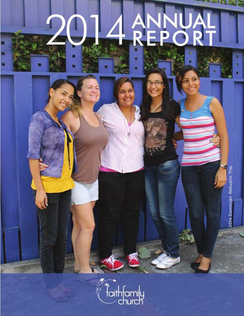 Faith Family Church Annual Report 2014 online