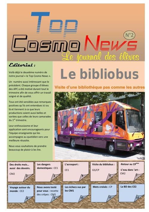 Top cosmo news numero 2.2