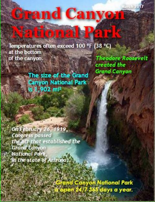 Grand canyon Nathional park