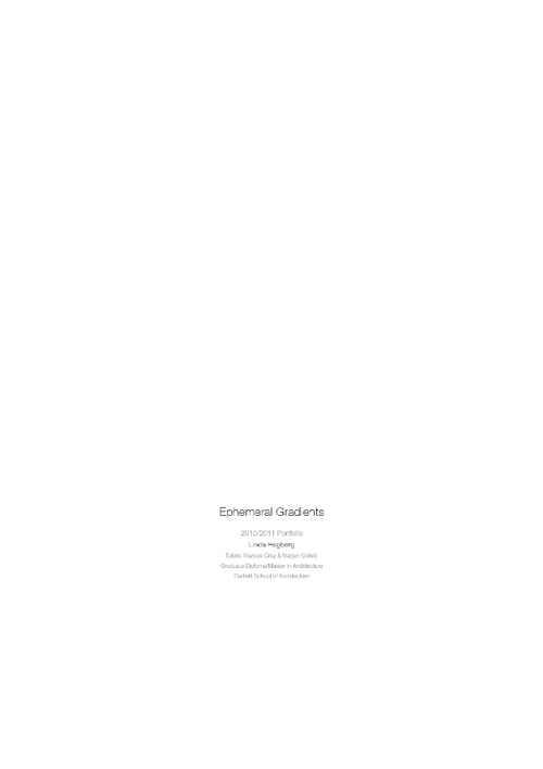 Diploma Portfolio Project 1