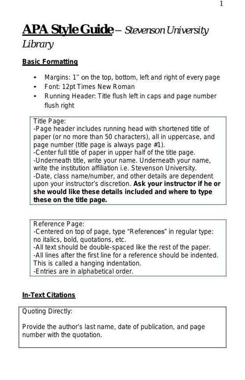 APA_Reference_Page_Citations Booklet