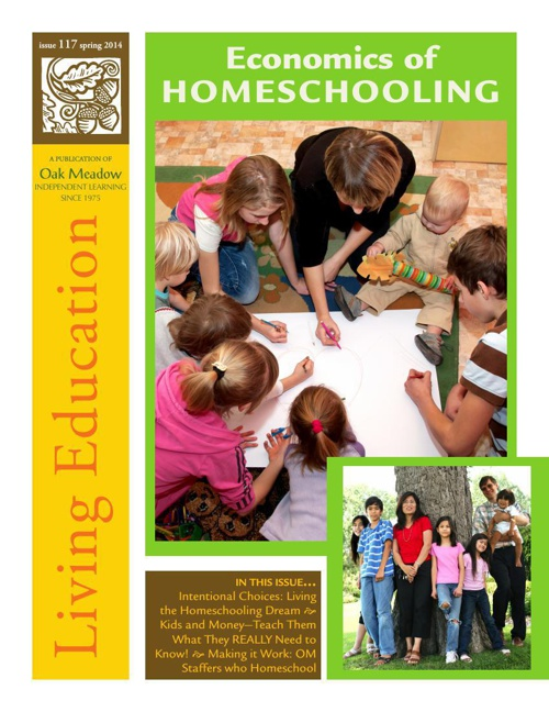 Living Education Spring 2014 : Economics of Homeschooling