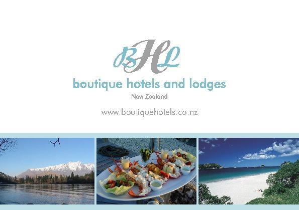 Boutique Hotels & Lodges NZ