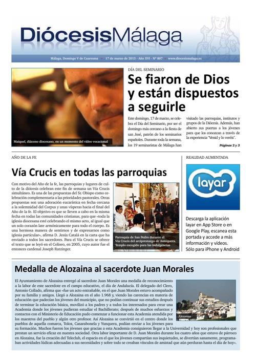 Diócesis Málaga 17-3-2013