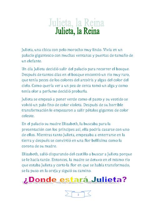 Julieta, la Reina