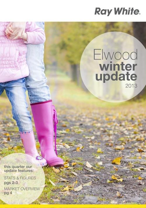 Elwood Winter Update 2013