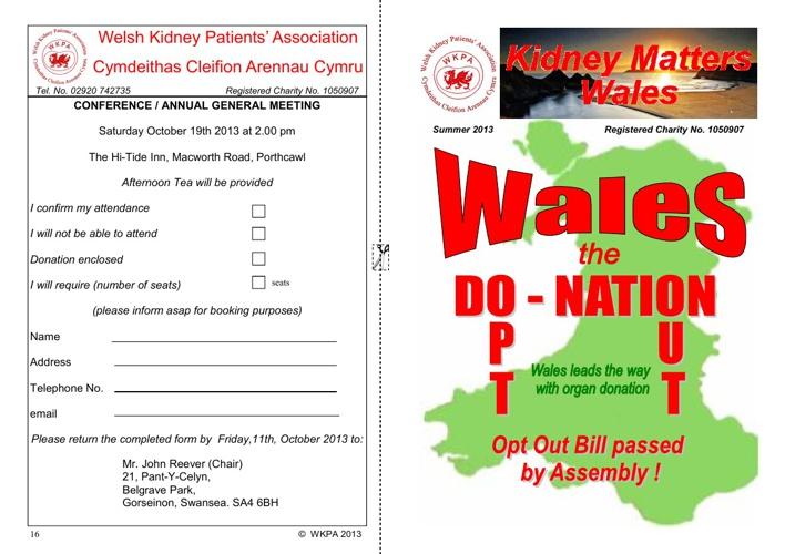 Kidney Matters ...Wales