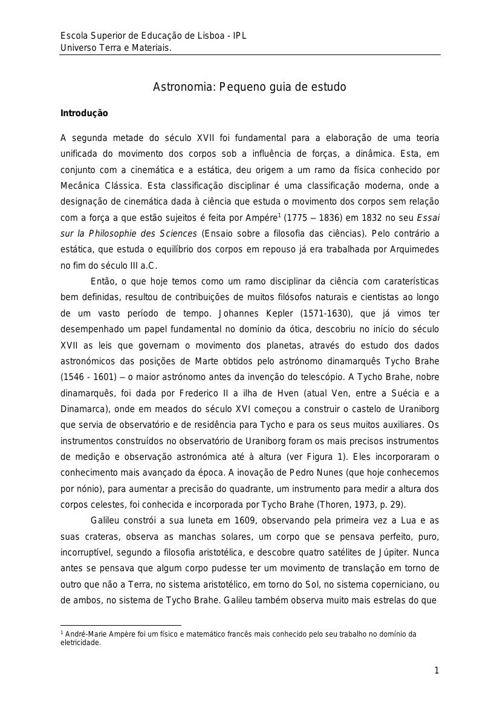 Astronomia 1415