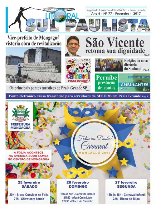 JORNAL LITORAL SUL PAULISTA N 77 FEVEREIRO