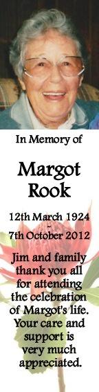 Margot Rook