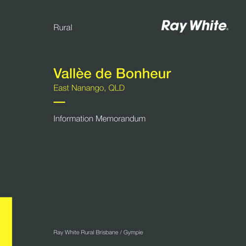 Vallèe de Bonheur - Information Memorandum
