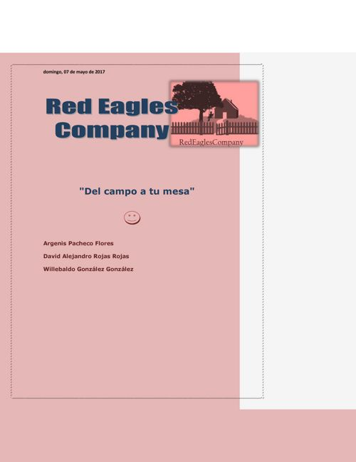 Red Eagles Company word (1)
