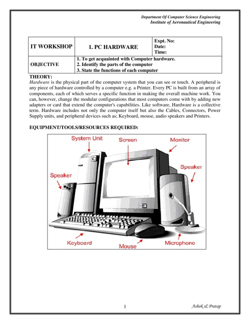 IT LAB MANUAL