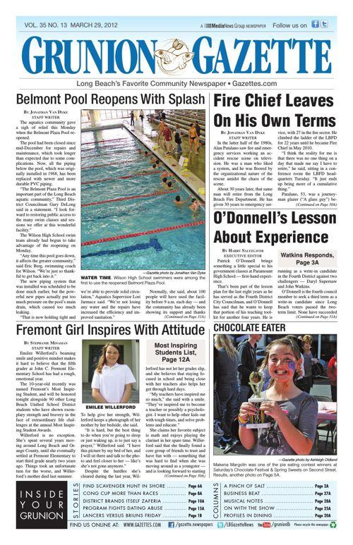 Grunion Gazette | March 29, 2012