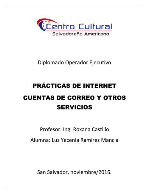 PRACTICAS DE INTERNET 3