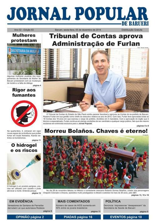 83ª edição do Jornal Popular de Barueri