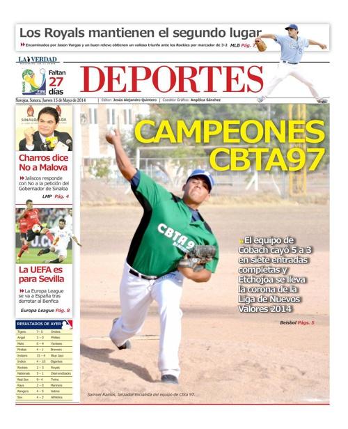 DEPORTES 15 MAYO 2014