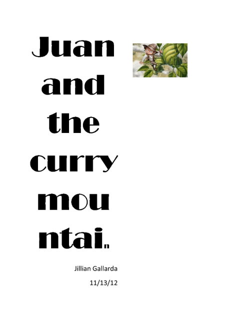 Juan and the Curry Mountain