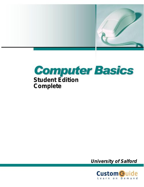 Copy of CMHS Computer Basics Workbook