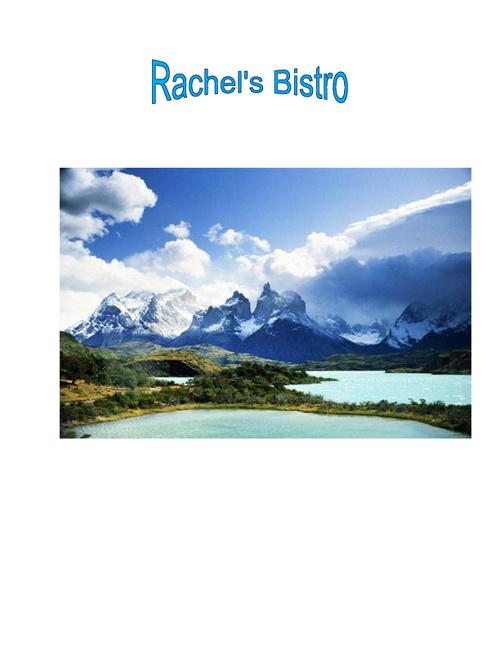 Rachel Jendrzey's Latin America Menu