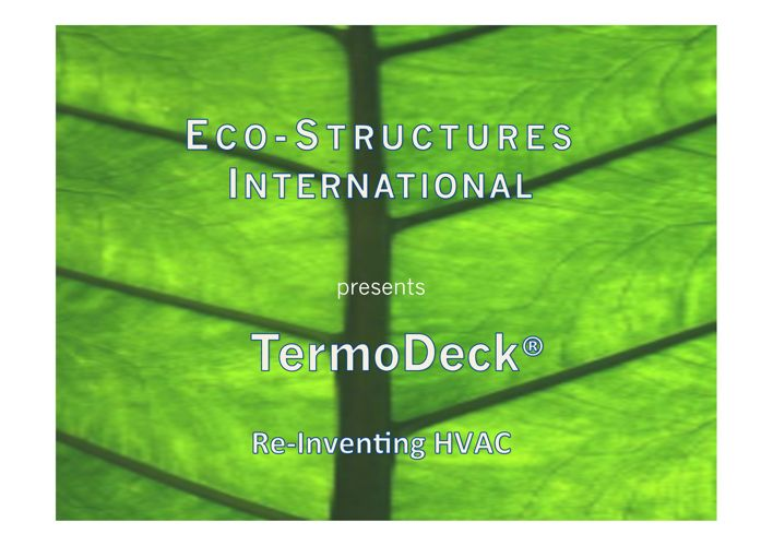 Introduction to TermoDeck