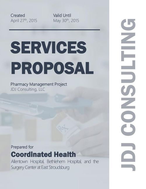 Coordinated Health Services Proposal 4.27.15