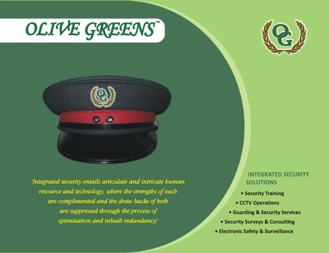 Olive Greens Security Training and Services
