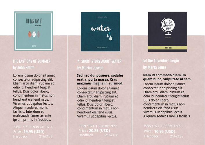 layout catalog