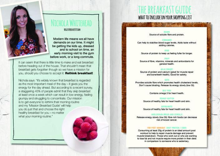 Nichola Whitehead's Mission Breakfast Guide