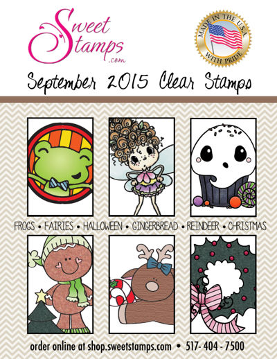 Sept 2015 NEW Release Clear Stamps