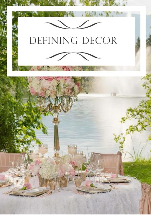 DEFINING DECOR CATALOG