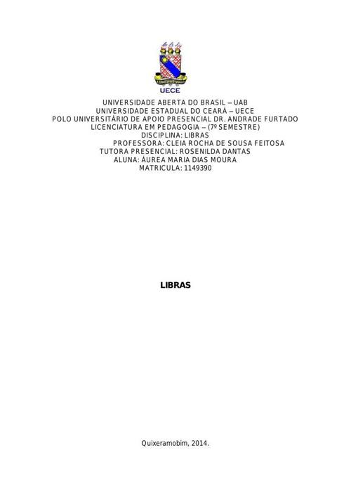 Aurea - LIBRAS