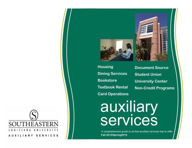 Auxiliary Services Booklet