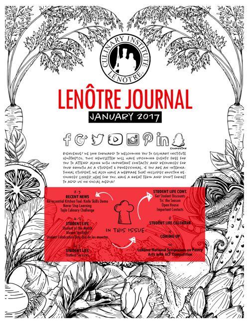 Spring 2017 Newsletter | LeNôtre™
