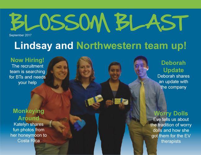 September 2017 Blossom Blast