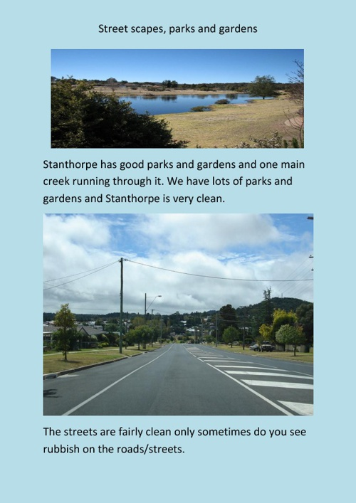 The Stanthorpe Area