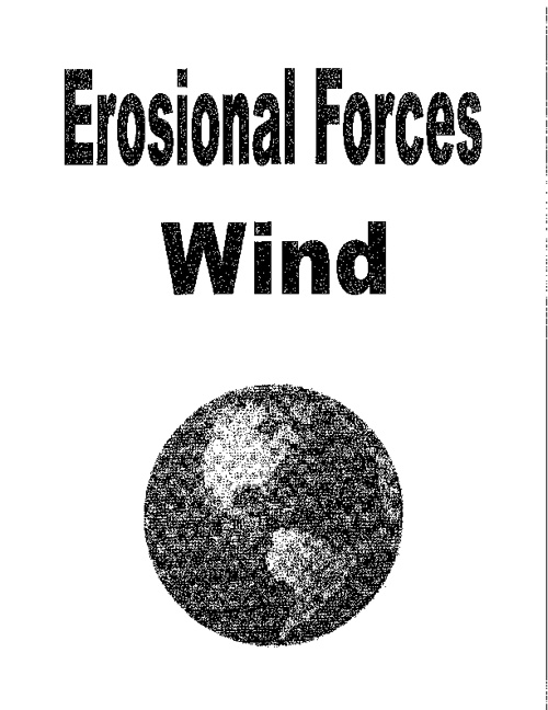 Erosional Forces - Wind