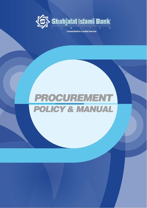 Shahjalal Islami Bank Limited Procurement Manual