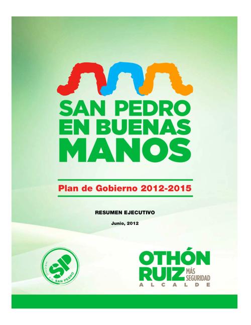 Plan de Gobierno de Othón Ruíz Montemayor