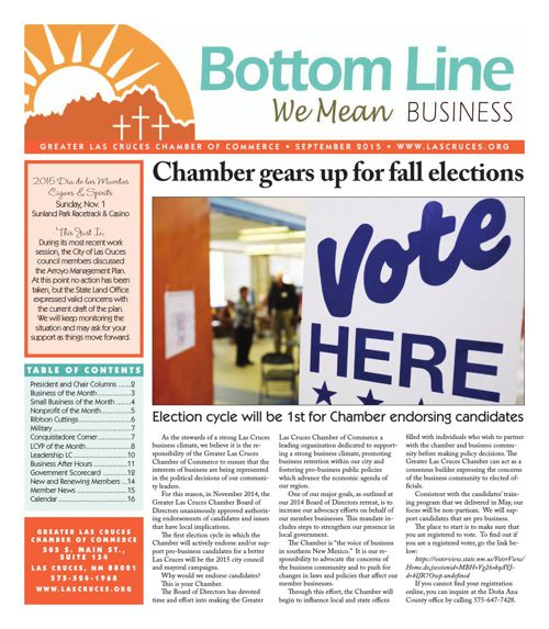 The Bottom Line September 2015