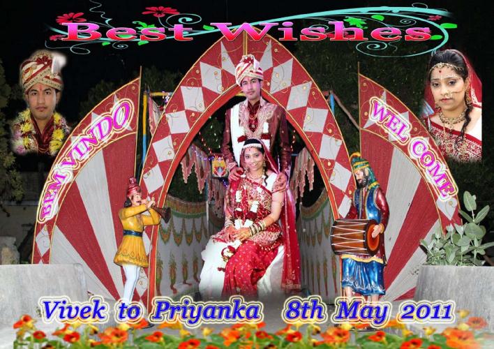 2011 May - Vivek weds Priyanka - London (UK)