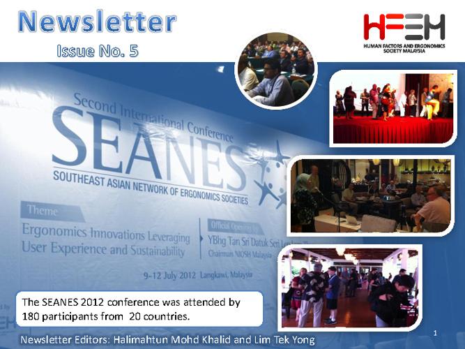 HFEM Newsletter No 5
